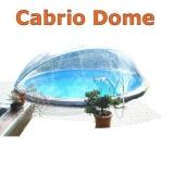 4,00 bis 4,20 m Poolabdeckung Cabrio-Dome