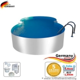 Alu-Pool 5,25 x 3,20 x 1,25 m