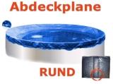 Pool Abdeckplane 4,5 - 4,6 m Poolabdeckung 450 Winterplane rund 460