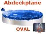 Pool Abdeckplane 6,25 x 3,6 m Poolabdeckung Winter 625 x 360