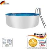 Alupool 6,40 x 1,25 m Aluminium-Pool