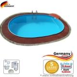 Schwimmbecken 7,4 x 3,5 x 1,35 m