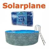 Solarplane 5,0 - 5,5 m pool rund 550 cm Solarfolie 500 cm