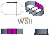 Ovalpool freistehend 5,85 x 3,50 m Germany-Pools Wall