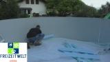 5,6 x 3,0 Pool Hohlkehle bis 6,1 x 3,6 m Ovalpool
