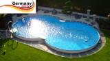 5,25 x 3,2 x 1,2 Achtformbecken Stein-Optik Achtform-Pool Stone