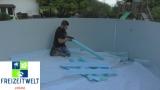 7,0 x 4,0 Pool Hohlkehle bis 8,5 x 4,9 m Ovalpool